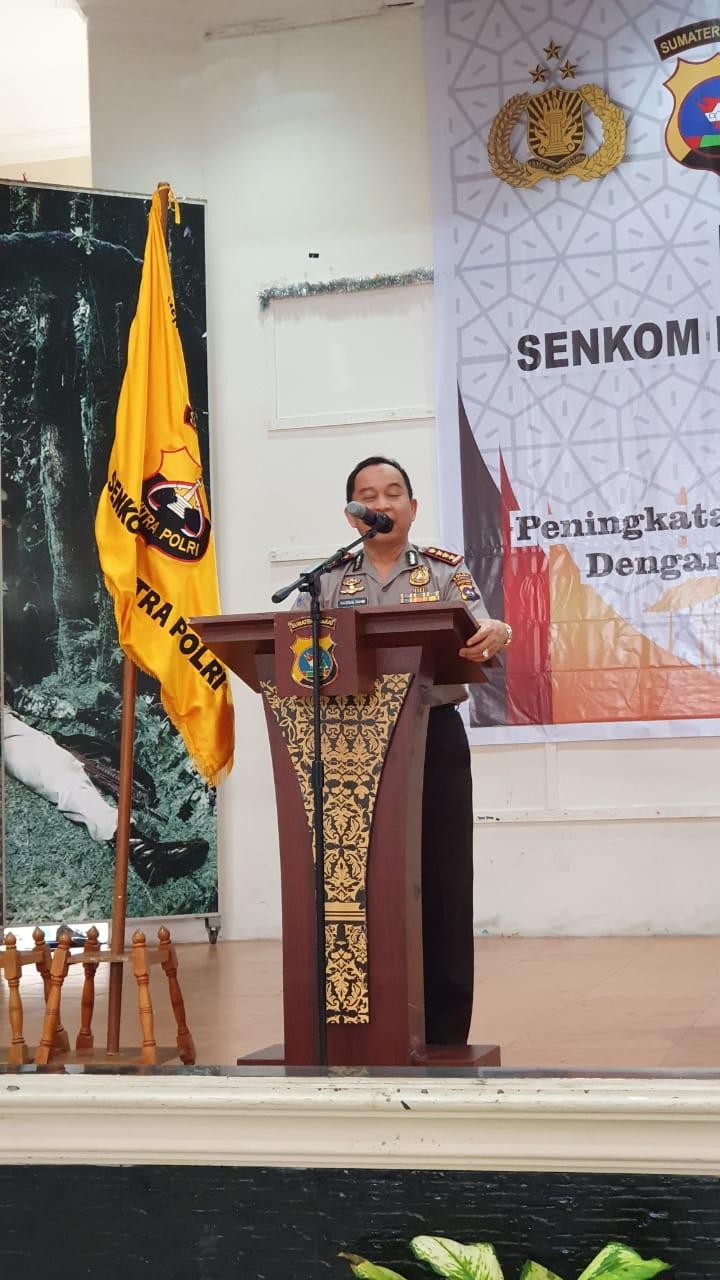 Dirbinmas Polda Sumbar Kombes Pol. Nasrun Fahmi, S.H.,M.Si., Ingatkan Seluruh Anggota Senkom Mitra Polri Sumbar Akan Bahaya Penyebaran Paham Radikal