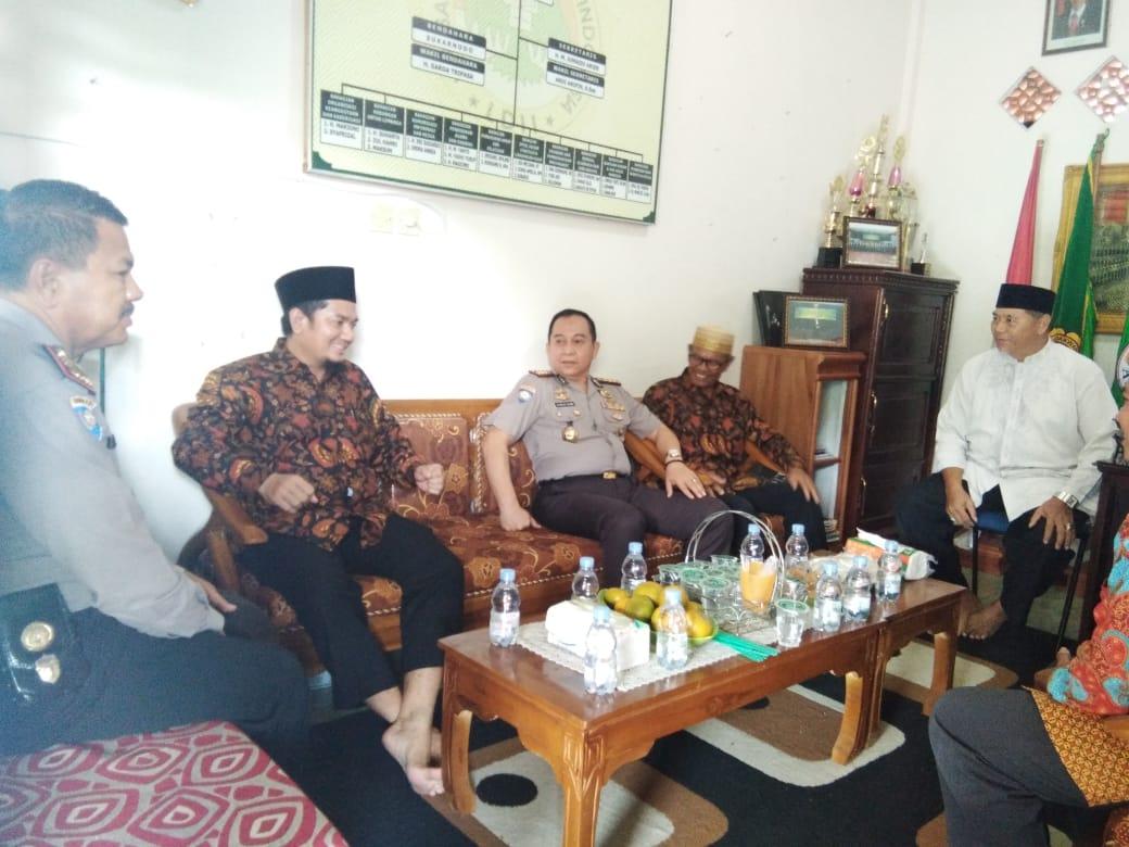 Dirbinmas Polda Sumbar Silaturahmi kepada  Anggota  LDII Korda 2 Sumbar